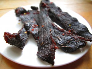 beef-jerky-on-plate